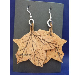Earrings (LC-800 model) from the manufacturer Luisa Cork